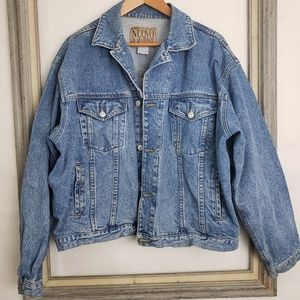 Vintage Nuovo Jeanswear Men's Denim Jacket sz XL